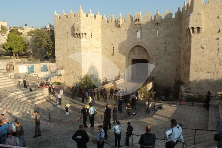 Stabbing Attack At Damascus Gate