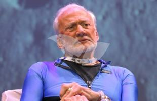 Buzz Aldrin at Space Conference in Israel