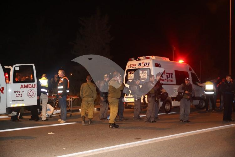 ZAKA Volunteers at the Scene of a Terror Attack in Gush Etzion 19.11.15