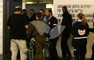 Terrorist from Al-Fawwar Stabbing Attack Arriving At Hospital