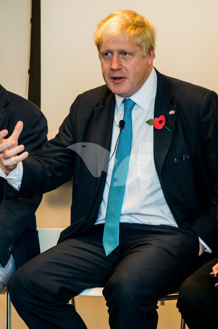 The Mayor of London Boris Johnson, London and Partners and Edutech UK