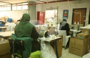 Palestinian Employees at a Barkan Factory in Samaria
