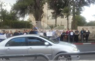 Demonstration in Support of 13-year-old Terrorist Ahmed Nasra