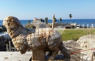 Ancient Ram Discovered in Caesarea 24.12.15