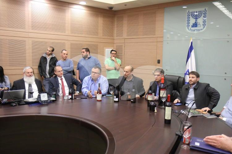Launching of Israeli Wine List Including Wines Produced in Judea and Samaria