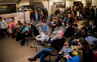"""""""Space Academy"""" at the Eretz Israel Museum During Space Week 3.2.16"""