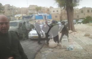 Scene of Shooting Attack in Hebron 3.1.16