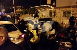 Scene of the Arrest of Suspected Attempted Terrorist in Nahariya 11.1.16