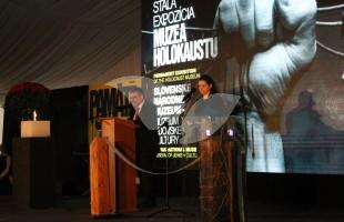 Opening Ceremony of Holocaust Museum in Sereď, Slovakia 26.1.16