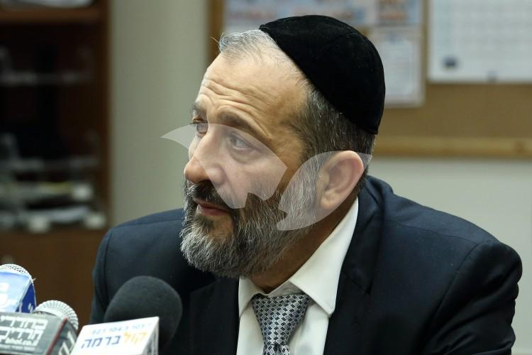 Minister Aryeh Mahlouf Deri