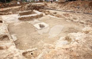 Winery at Excavation Site at Schneller Compound in Jerusalem 2.3.16