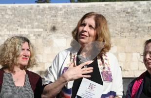 Women of the Wall At Kotel 31.1. Following Section Decision For Third Prayer Section