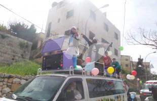 Purim Parade in Hebron 24.3.16