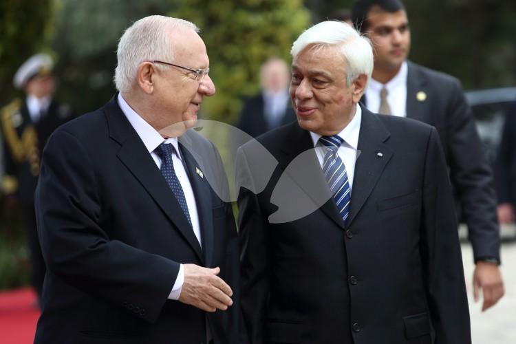 Greek President Visiting Israel