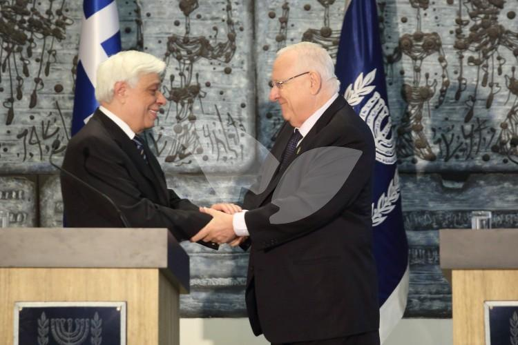 Greek President Visiting Israel