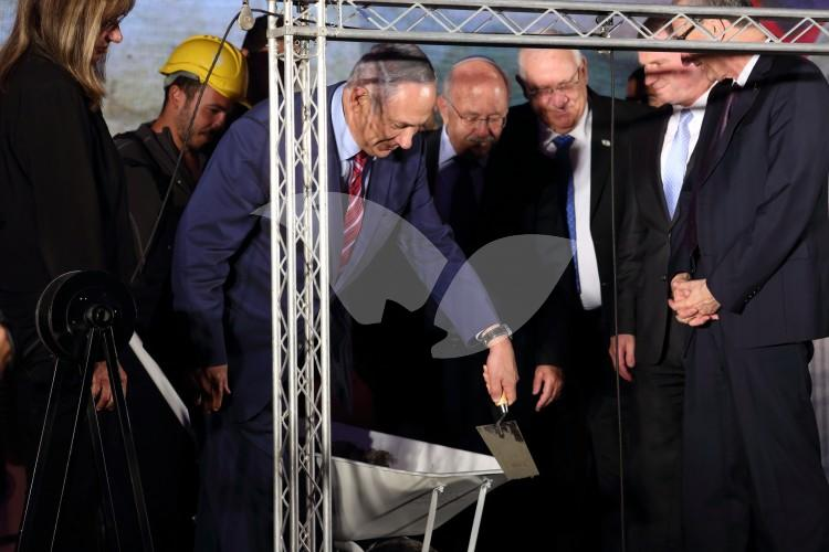 Cornerstone Laying Ceremony for the New National Library of Israel