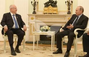 President Rivlin Meets Russian President Putin in Russia, 16.3.16