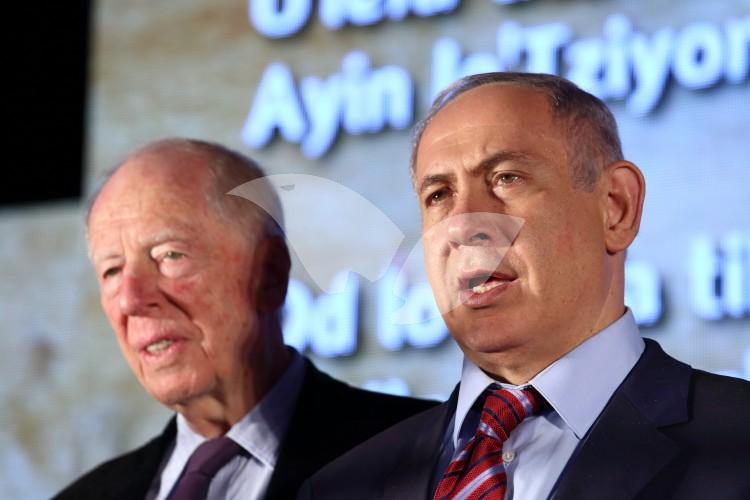 Prime Minister Netanyahu and Baron Rothschild
