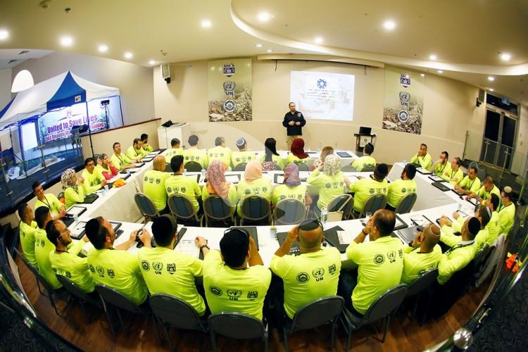 Joint Israeli-Palestinian Training Course on Readiness for Natural Disaster 7.4.16