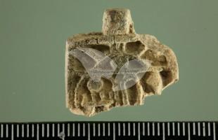 Egyptian Amulet Found by Neshama Spielman in Temple Mount Soil 19.4.16