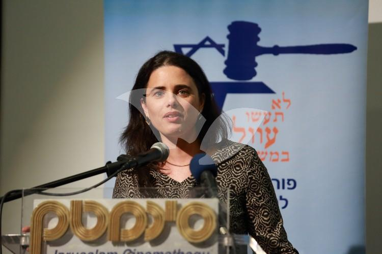Shaked Speaks At International Legal Forum 1.5.2016