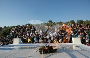 Reenactment of Passover Offering on Mount of Olives 18.4.2016