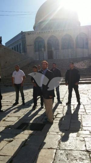 Yehuda Glick Visits Temple Mount 23.5.16