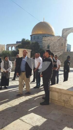 Yehuda Glick Visits Temple Mount 23.5.16