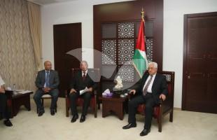 Israeli Mayors, led by Shlomo Bohbot, Meet With Palestinian President Mahmoud Abbas in Ramallah 31.5.16