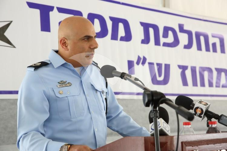 Ceremony for New Police Commissioner of Judea and Samaria District, 16.5.16