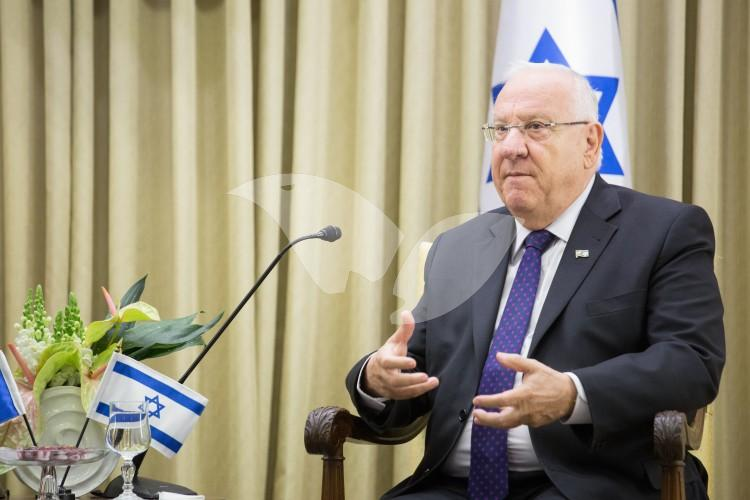 French Prime Minister Manuel Valls Meeting with President Reuven Rivlin 23.5.16