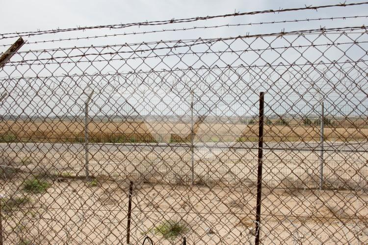 The Gaza Border Fence