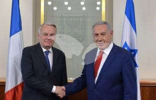 Prime Minister Netanyahu Meets with French Foreign Minister Jean-Marc Ayrault 15.5.16