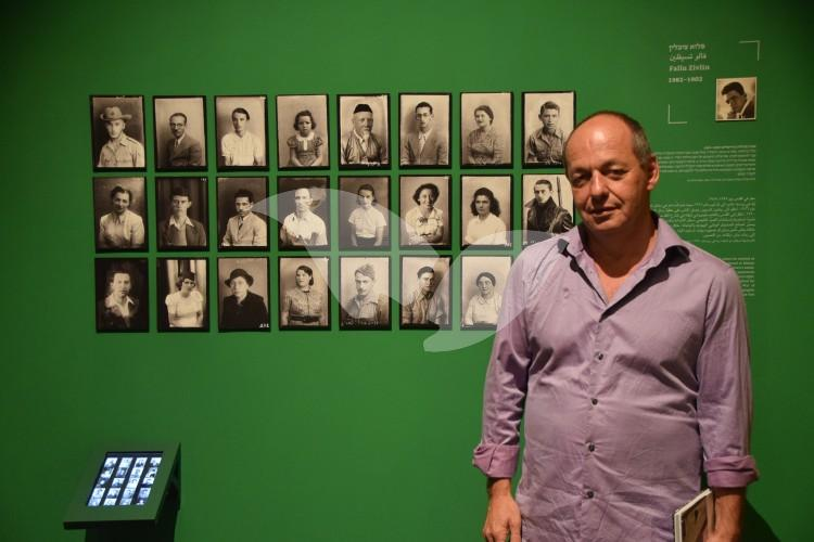 "Curator Dr. Shimon Lev and ""The Camera Man"" Exhibit"