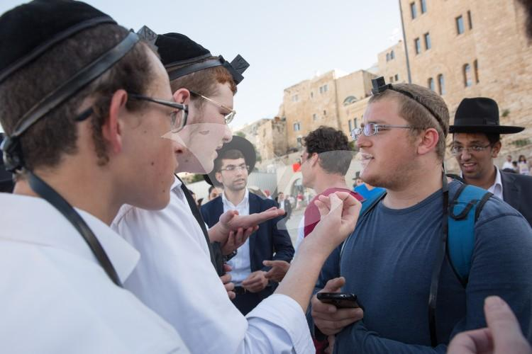 Egalitarian Prayer and Protests at Western Wall Plaza 16.6.16