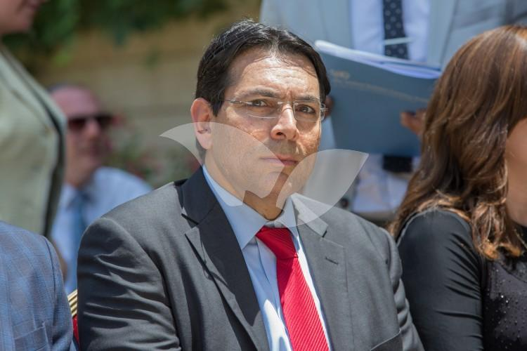 Israeli Ambassador to the UN Danny Danon Meeting at the President's House 27.6.2016