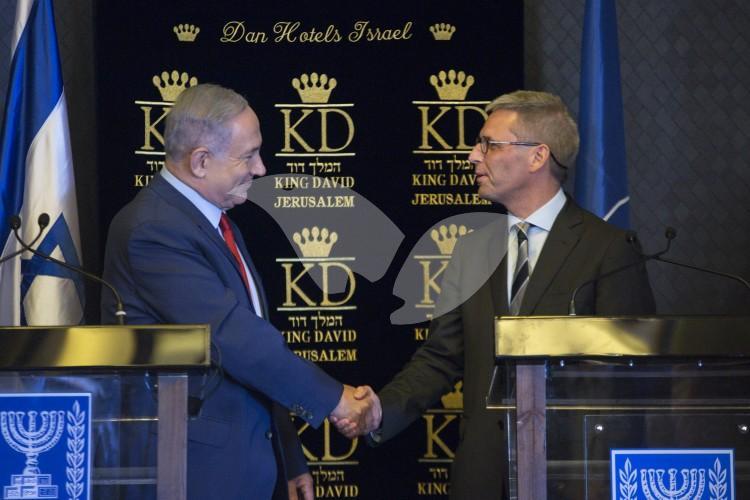 Netanyahu Meets With NATO Ambassadors 14.06.2016