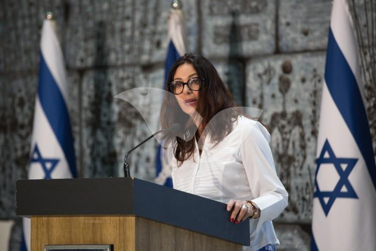 Culture and Sports Minister Miri Regev at President's Residence
