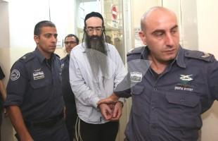 Yishai  Schlissel in the Jerusalem District Court