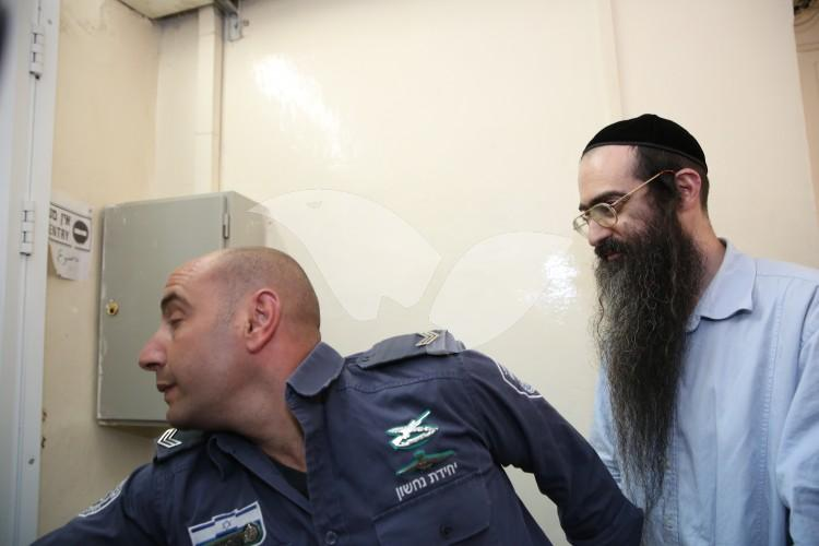 Yishai  Schlissel in the Jerusalem District Court