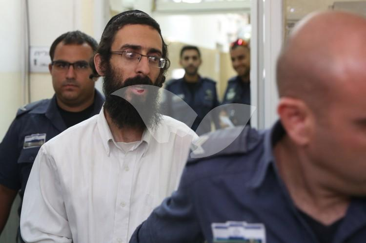 Michael Schlissel in the Jerusalem District Court
