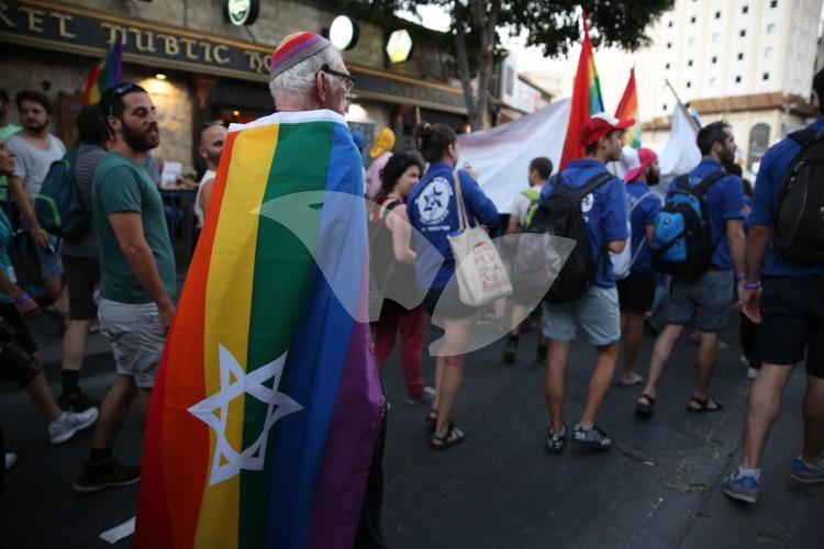 Jerusalem Gay Pride Parade 21.7.16