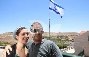 Shuki Gilboa with his wife Shlomit