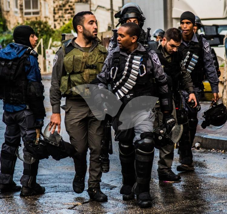 Special Police Forces in Jerusalem