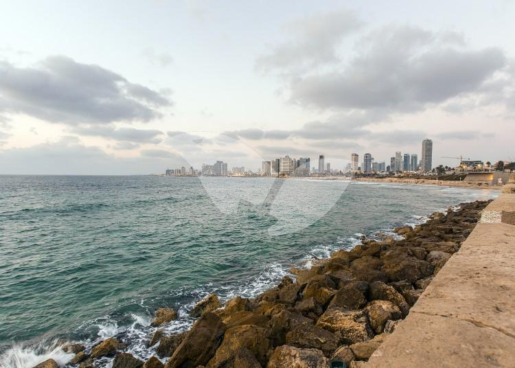 Tel Aviv Skyline and Coast
