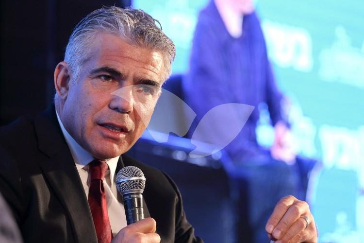 Yesh Atid MK Yair Lapid at the 13th Jerusalem Conference