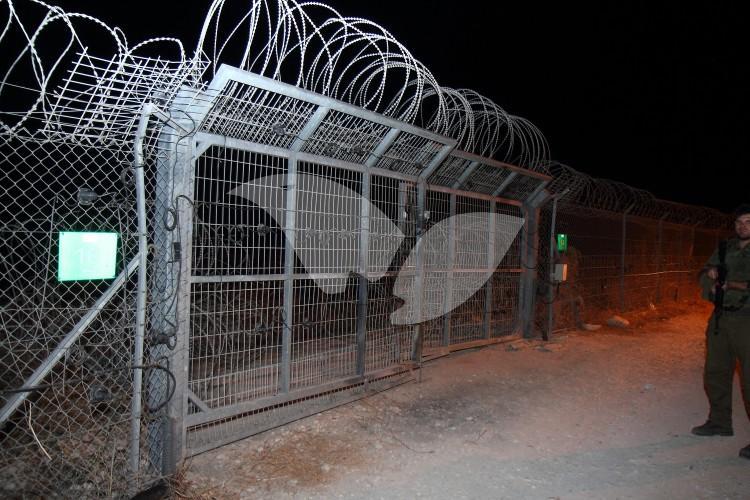 Security Fence of Jewish Community of Avnei Hefetz in Samaria 28.7.16
