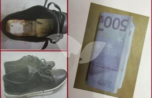 Shoes Used for Smuggling Terror Money