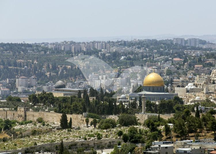 Temple Mount from Mount Scopus