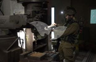 IDF Seizes Two Lathes in Hebron
